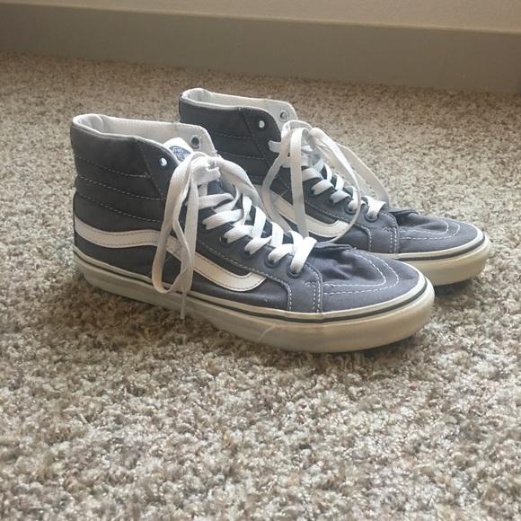 9322786ac1 Vans Shoes - high top old school grey vans